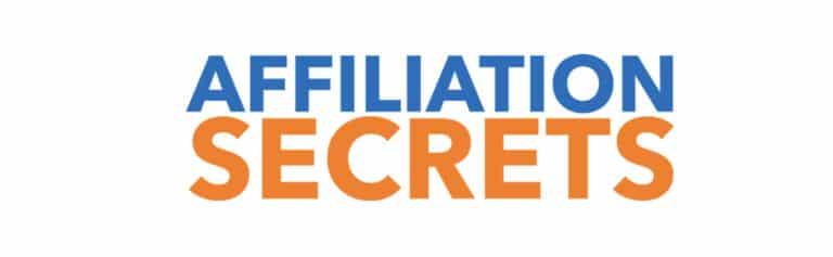 Affiliation Secrets