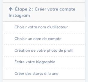 Module 2 - La Formule Instagram