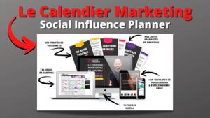 Calendrier Marketing - Social Influencer Planner