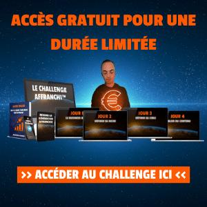Challenge Affranchi blog